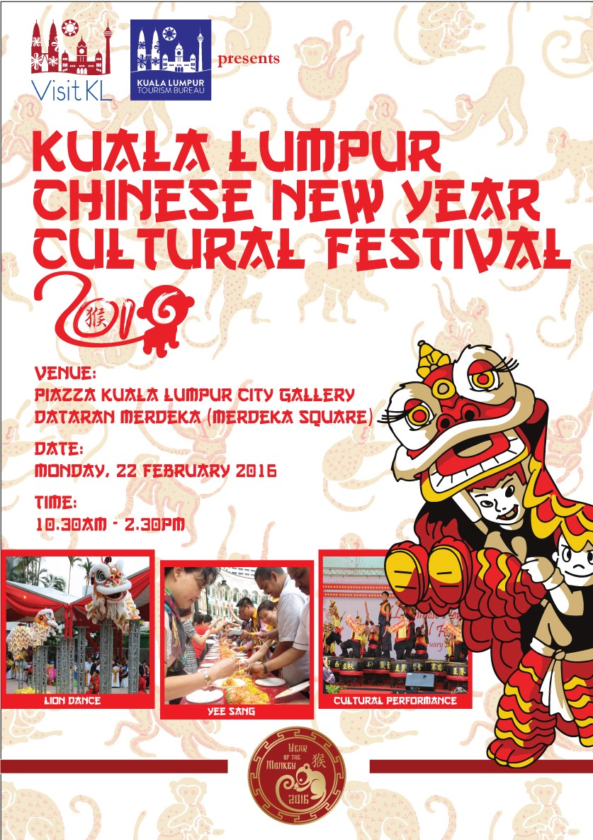 KL Chinese New Year and Cultural Festival 2016